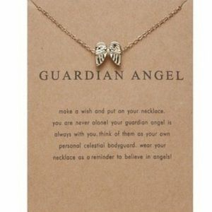 New Guardian Angel Necklace